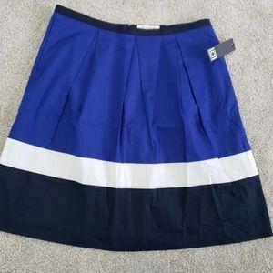Liz Claiborne color block skirt